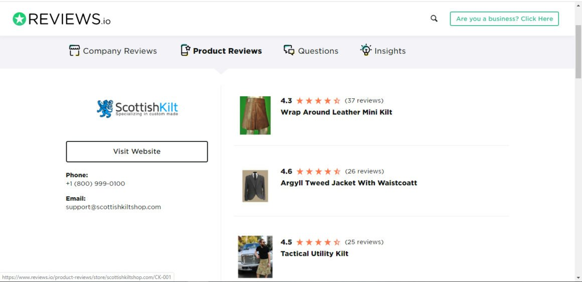 Products Reviews