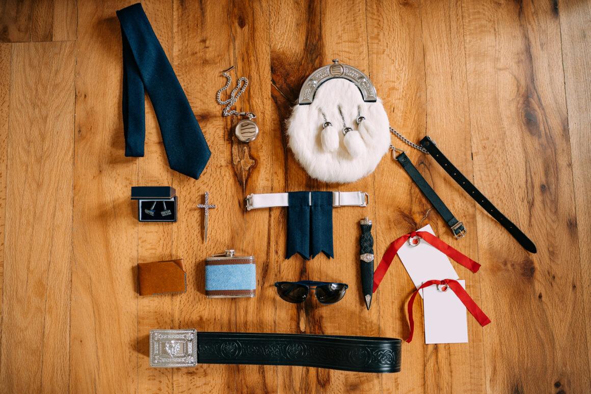 kilt wear accessories