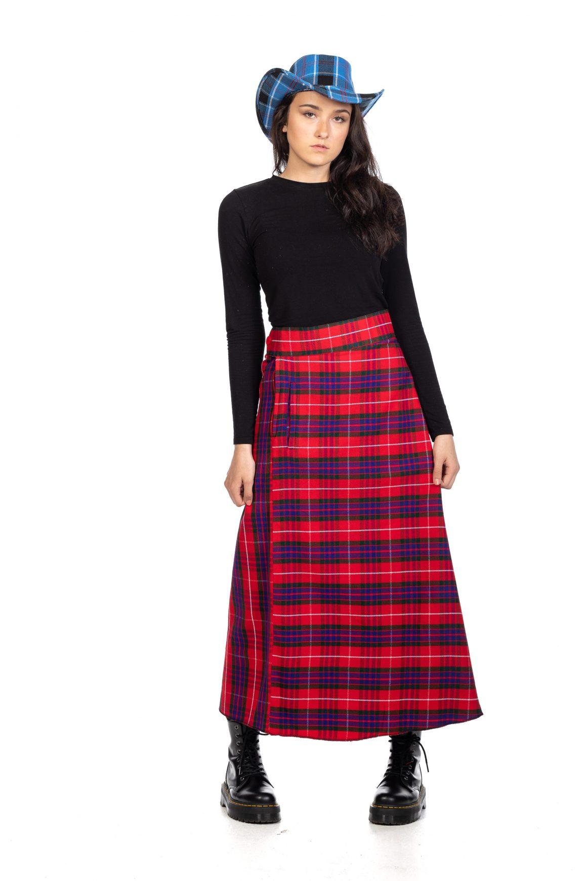 Tartan Maxi Skirt