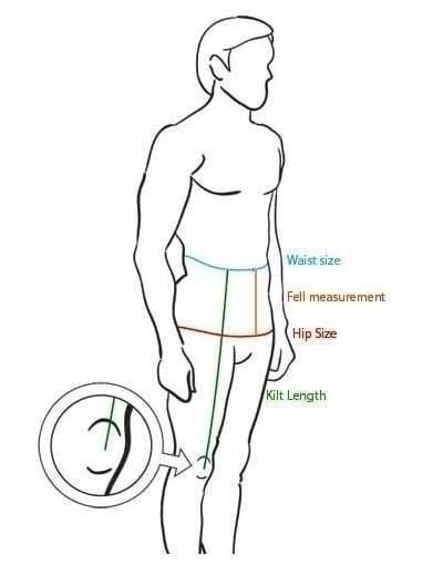 kilt measuring guide