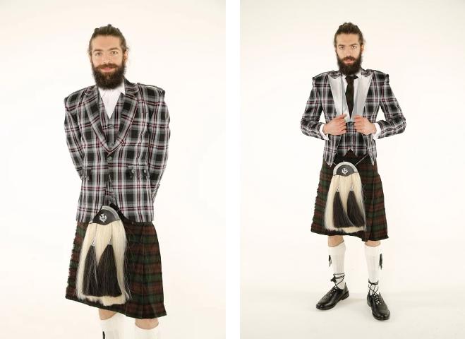 tartan waistcoats for sale