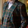 scottish tartan vests and jacket
