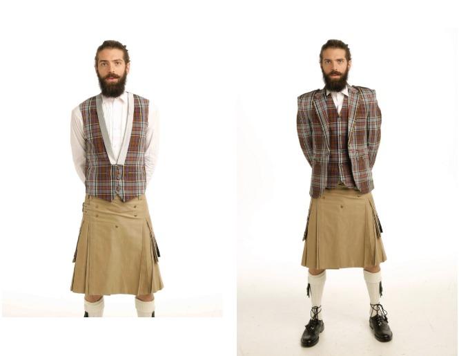 scottish waistcoats vests