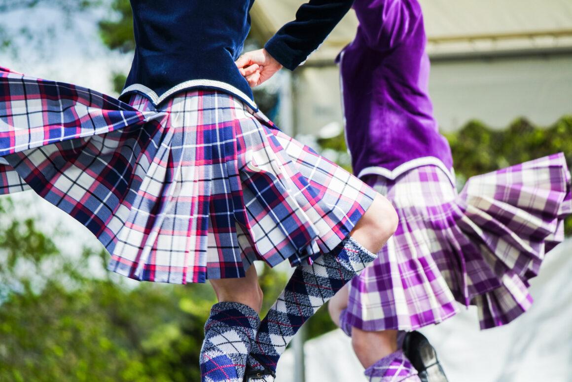 scottish country dancing skirts