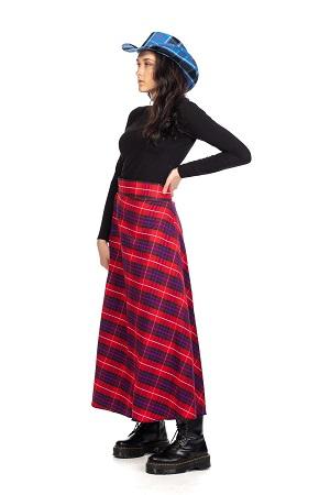 Tartan Maxi Skirt1