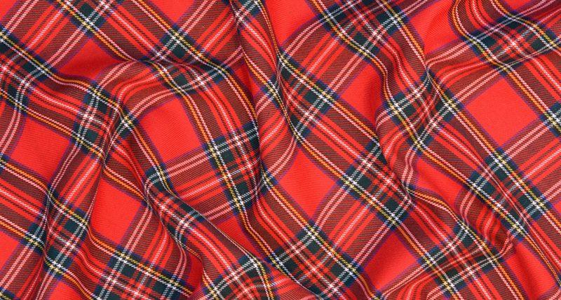 Plaid Tartan Fabric