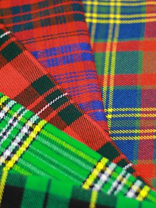 tartan fabric for sale